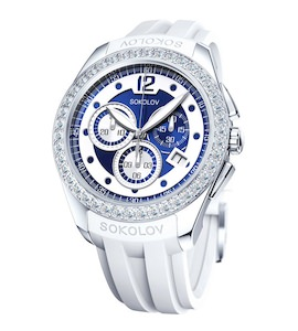 Женские серебряные часы 149.30.00.001.10.06.2