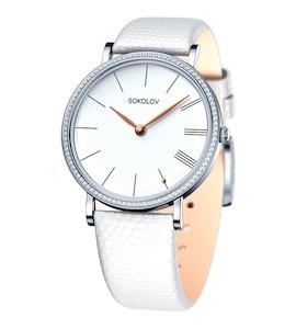 Женские серебряные часы 153.30.00.001.01.02.2