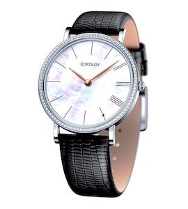 Женские серебряные часы 153.30.00.001.02.01.2
