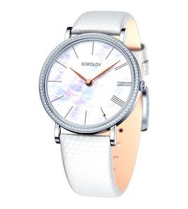 Женские серебряные часы 153.30.00.001.02.02.2