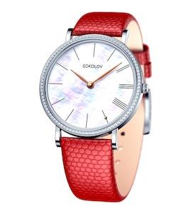 Женские серебряные часы 153.30.00.001.02.04.2