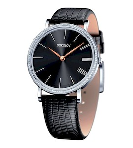 Женские серебряные часы 153.30.00.001.04.01.2