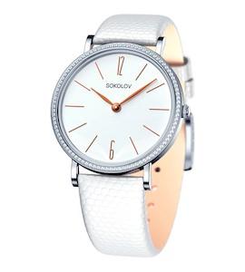 Женские серебряные часы 153.30.00.001.05.02.2
