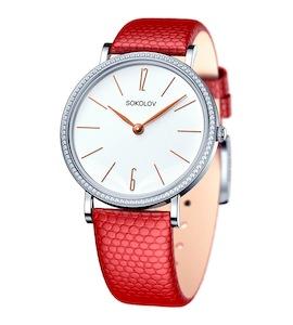 Женские серебряные часы 153.30.00.001.05.04.2