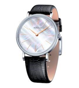 Женские серебряные часы 153.30.00.001.06.01.2