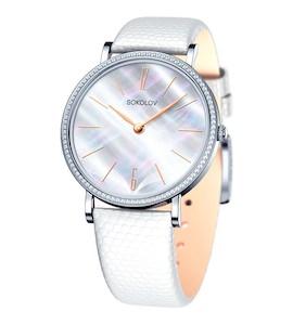 Женские серебряные часы 153.30.00.001.06.02.2