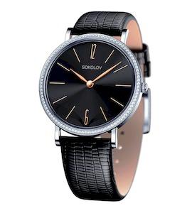 Женские серебряные часы 153.30.00.001.08.01.2