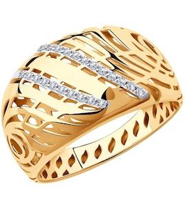 Кольцо из золота 018379