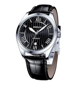 Мужские серебряные часы