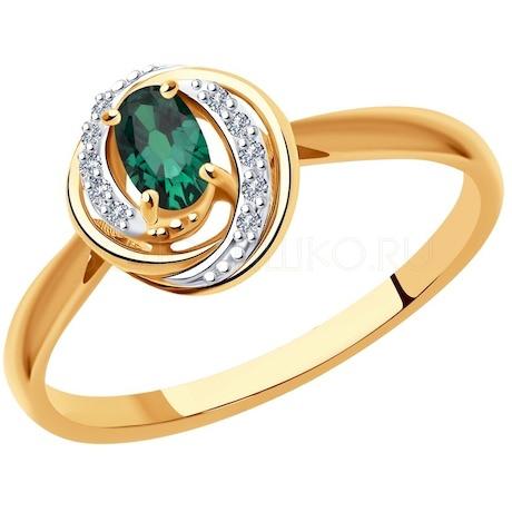 Кольцо из золота 3010567