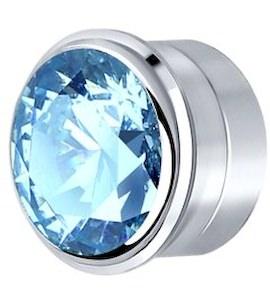 Вставка из серебра с голубым