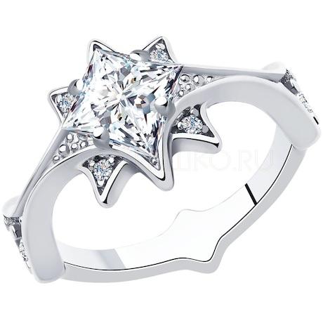 Кольцо из серебра 94013076