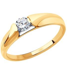 Кольцо из золота 018446