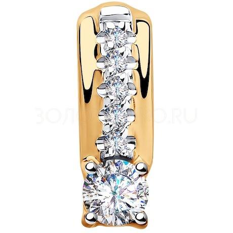 Подвеска из золота с фианитами 035596