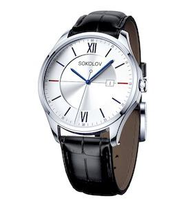 Мужские серебряные часы 154.30.00.000.01.01.3