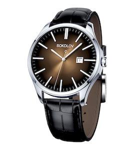 Мужские серебряные часы 154.30.00.000.05.01.3