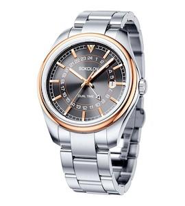 Мужские часы из золота и стали 157.01.71.000.05.01.3