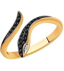 Кольцо из золота с бриллиантами 7010065