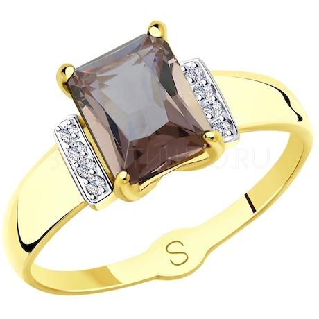 Кольцо из желтого золота 715416-2