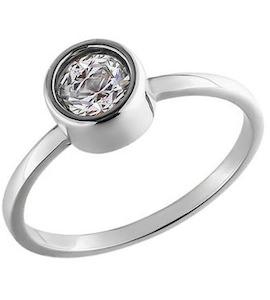 Маленькое кольцо из белого золота 81010114