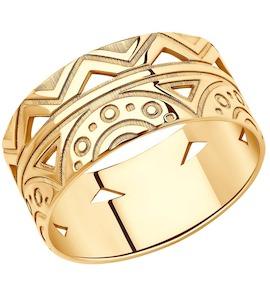 Кольцо из серебра 93010838