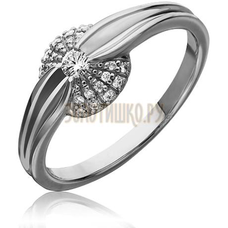 Кольцо из белого золота с бриллиантами 1_02337