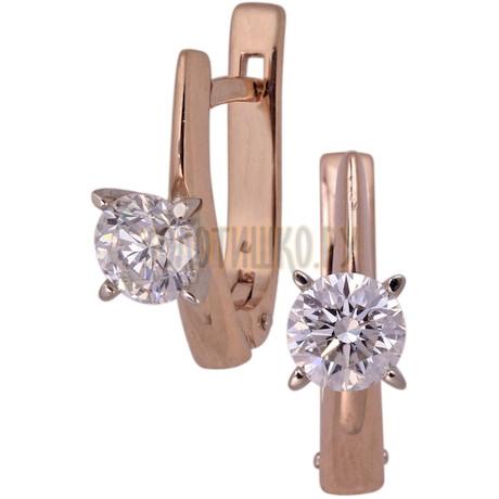 Золотые серьги с бриллиантами 2_00672
